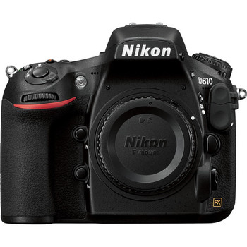 Rent Nikon D810 Body only with additional battery, CF, and SD cards