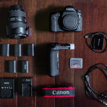 Rent Canon 5D Mark IV  + EF 24-105mm f/4L Lens + Accessories