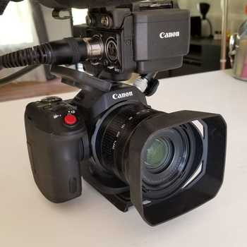 Rent Canon's incredible XC15. HD and 4K video. XLR inputs and color profiles to match the C300 line.