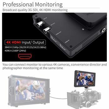 "Rent 7"" IPS 3G SDI 4K HDMI On Camera Field Monitor"