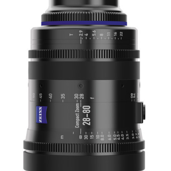 Rent Zeiss 28-80mm 2.9 Compact Zoom Lens