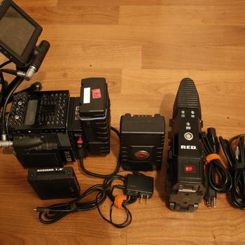"""Rent RED Scarlet MX - with 240gb card, 5"""" touch screen & 2 batts"""
