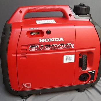 Rent Brand new Honda EU2000i SUPER QUIET generator + 3x light stands + 3x sandbag