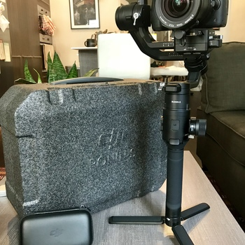 Rent DJI Ronin-S With Carrying Case