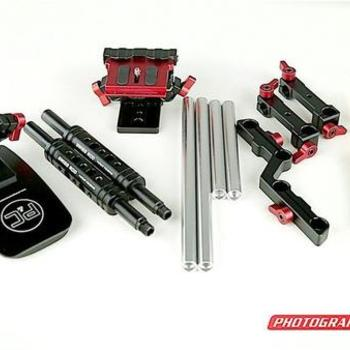 Rent Photography & Cinema  PR-1 Shoulder Rig Kit with Swiss Rods 15MM Rails (2PC)