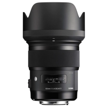 Rent Sigma 50mm f/1.4 DG HSM Art Lens for Canon