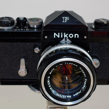 Rent Nikon F-1 Camera with lenses.