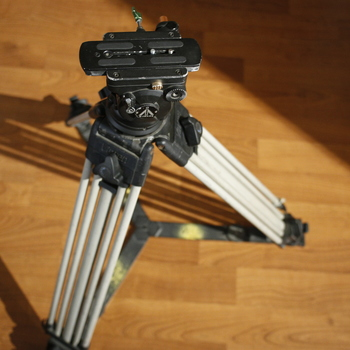 Rent Vinten Tripod Legs and E-Image Head
