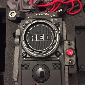 Rent Red Cinema Camera-- the Monstro V V, Visita Vision 8k Digital video for FX and principle photography --