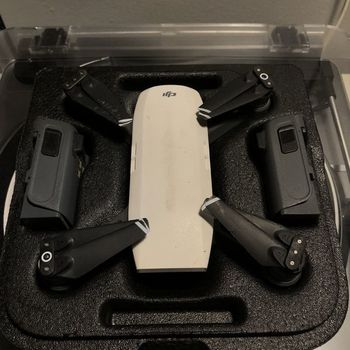 Rent DJI Spark Drone + Charger/Battery + Carrying Case + 32gb Memory Card