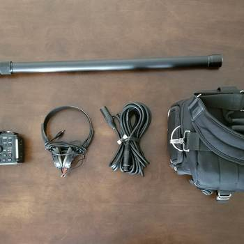 Rent Sennheiser ME66/K6 Mic Boom Kit with Tascam Recorder