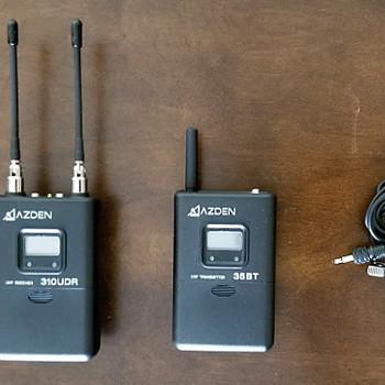 Rent Azden Wireless Microphone. Lavalier Audio System