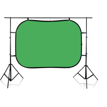 Rent Green Screen - Chroma pop Blue/Green and Stand Kit (5' x 7')