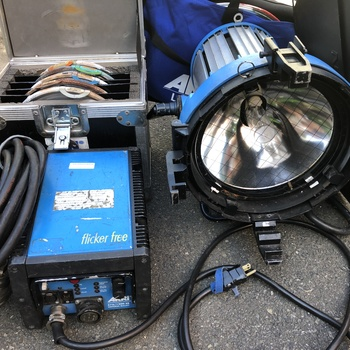 Rent Arri 1200 Watt Par with Lenses and Ballast