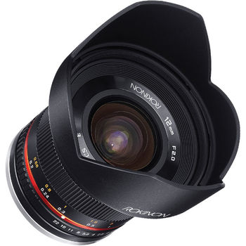 Rent Rokinon  12mm f/2.0 Wide Angle Lens - E-Mount