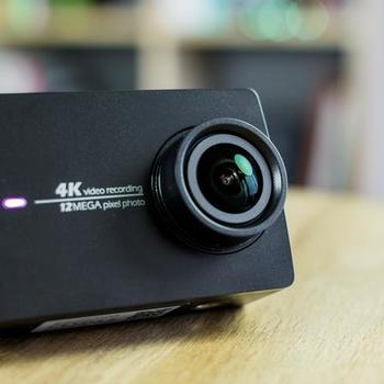 Rent Two 4k Yi Action Cameras (GoPros) + 32gb Memory Cards + Extender Sticks