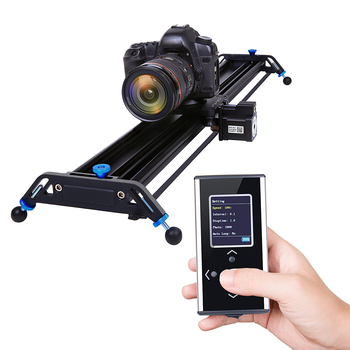 "Rent Motorized Camera Slider Dolly Track 32"" with Ball head"