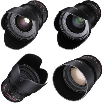Lens kit stock photo