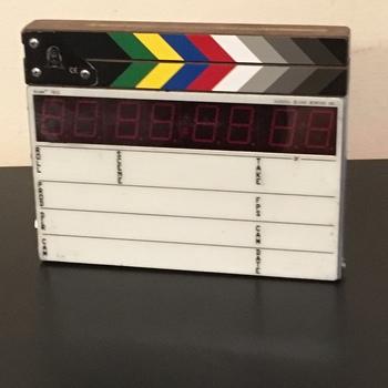 Rent Compact Time Code Slate - Color Clapper, EL Backlit