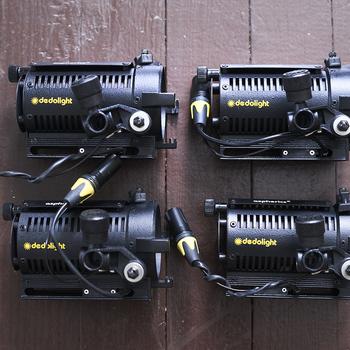 Rent Dedolight 4-Light 150W set/85mm projection attachments