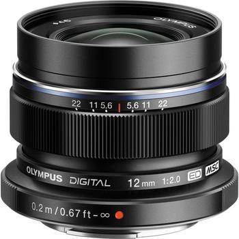 Rent Olympus Digital ED 12mm f/2 lens w/ variable ND filter