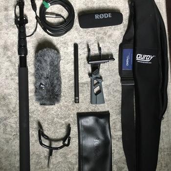Rent Rode NTG-3 Shotgun & Boom Pole Kit
