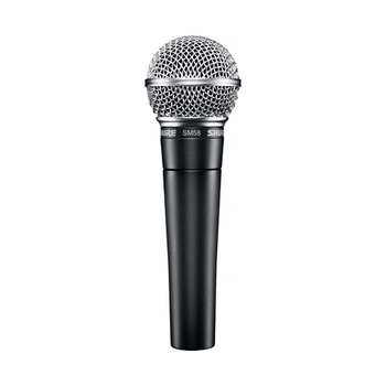 Rent Shure SM58 with 25' XLR cable