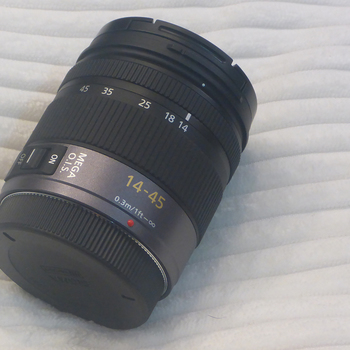 Rent Micro 4/3 Zoom Lens.  14-45mm
