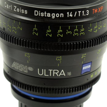 Rent Zeiss Ultra 16 Primes - 9.5mm, 12mm, 14mm - S16 Format