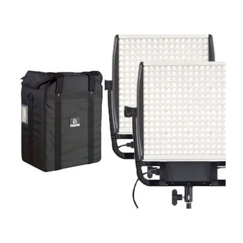 Rent 2 Light Astra-EP Bi-Color 1x1 Kit with Snapbag and Snapgrid