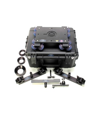Dana dolly ddurk1   portable dolly system rental kit with universal track ends