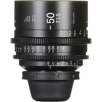 Rent Sigma 50mm T1.5 FF High-Speed Prime (PL Mount)