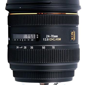Rent Sigma 24-70mm EF Lens