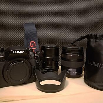 Rent Panasonic GH4 2 Lens Kit (12-35mm & 25mm Cine) with V-Log
