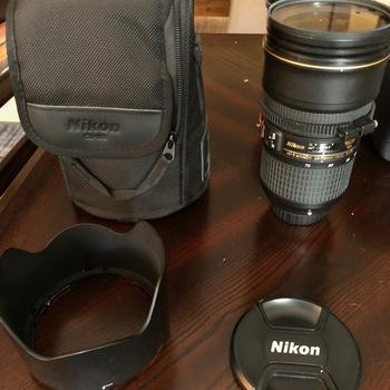 Rent Nikon AF-S NIKKOR 24-70mm f/2.8E ED VR Lens