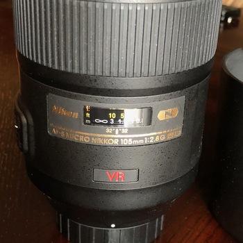 Rent Nikon AF 1:1 MACRO LENS 105mm f/2.8G IF-ED