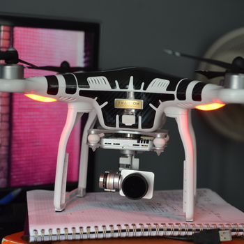 Rent DJI Phantom 3 Professional with Filters and 3 Smart Batteries