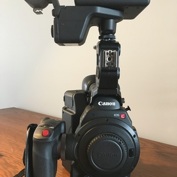 Rent Canon C300 Mark II + 2 Lens + Tripod + Roller bag