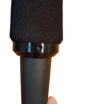 Rent Shure SM57 Microphone and A2WS Windscreen (Comes with XLR)