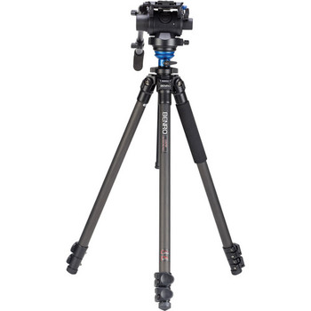 Rent Benro Video Tripod With Fluid Drag and case