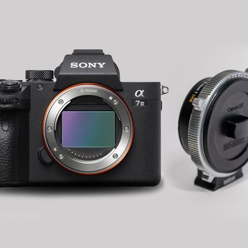 Rent Sony A7 iii with Metabones CINE EF to E mount Smart Adapter