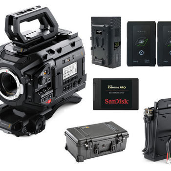 Rent Blackmagic URSA Mini Pro Kit with SSD Recorder and Drive