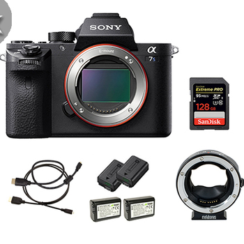Rent 2x Sony a7S II's w/ Cards, Batteries, EF Mounts