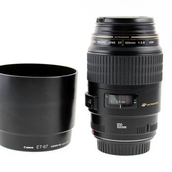 Rent Canon  EF 100mm f/2.8 Macro w/ hood