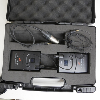 Rent Polsen ULW-16 UHF Wireless Lavalier Microphone Mic + XLR Cable