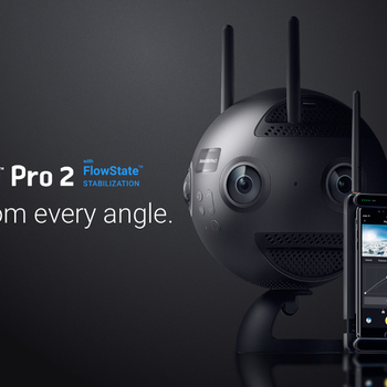 Rent Insta360 Pro 2 with FarSight 8k 360 Degree Virtual Reality Camera