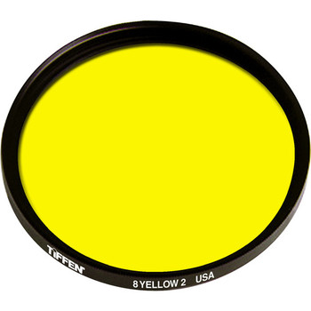 Rent  Tiffen 77mm Yellow 2 #8 Glass Filter for Black & White Film