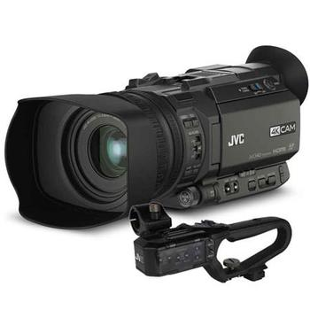 Rent JVC GY-HM170 4KCAM Pro Camcorder 12x Zoom Lens Kit