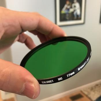 Rent Calumet 77mm Green (11) MC filter