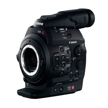 Rent 2x Canon C300 Cameras (EF Mount)